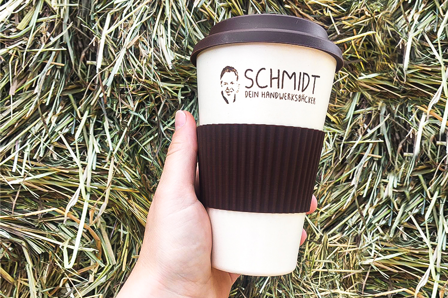 Dein Handwerksbäcker Schmidt Kaffee unterwegs