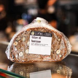 Deine Handwerksbäckerei Schmidt Vollkornbrot mit Haselnüssen